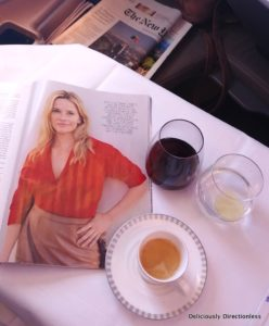 Coffee Singapore Airlines Business Class
