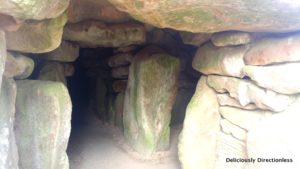 Entrance to West Kennet Long Barrow