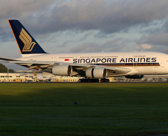 Singapore Airlines Aircraft 1