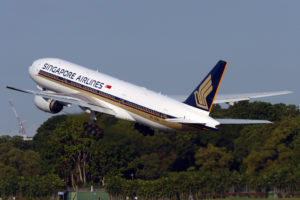 Singapore Airlines Aircraft 2