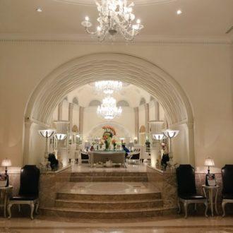 Lobby at Hilton Mumbai International Airport