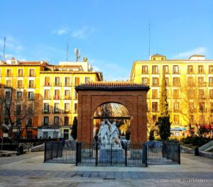 Plaza del Dos de Mayo Malasana Madrid