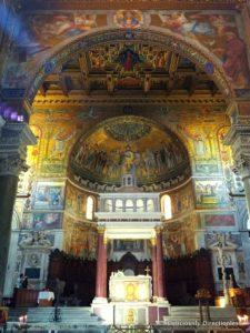 Basilica di Santa Maria in Trastevere Rome mosaics