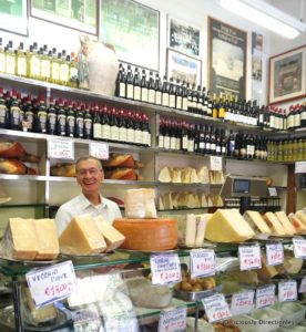 Cheese tasting in Trastevere Rome