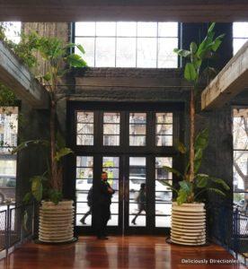 Entrance Stamba Hotel Tbilisi