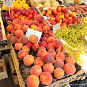 Market in Trastevere Rome