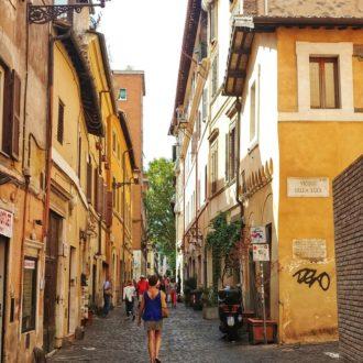 Streets of Trastevere Rome