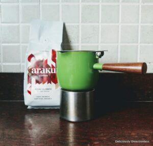 Araku Coffee & Moka Pot
