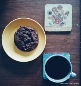 Coffee with cookie