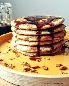 Healthy Pancakes with Oats and Banana-001