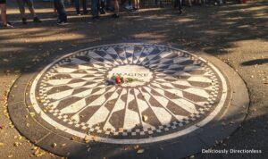 Central Park John Lennon Memorial