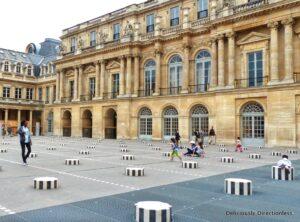 Jardin du Palais-Royal art