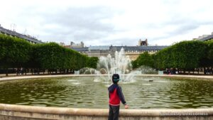 Jardin du Palais-Royal fountain