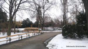 Vienna Stadtpark pathways