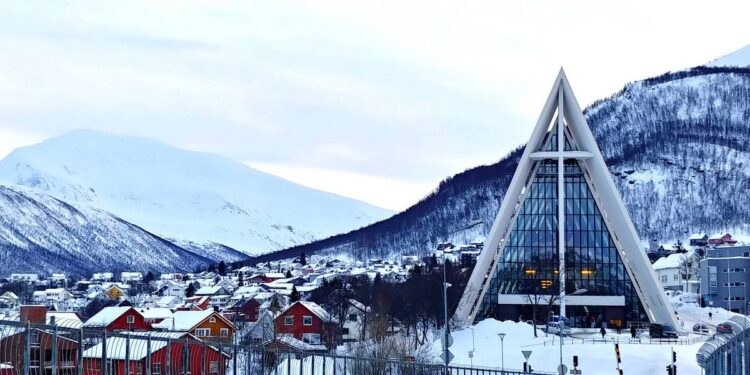 Tromsø Bridge and Arctic Cathedral
