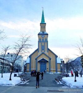 Tromsø Cathedral at daytime